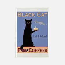 Black Cat Fine Coffees Rectangle Magnet