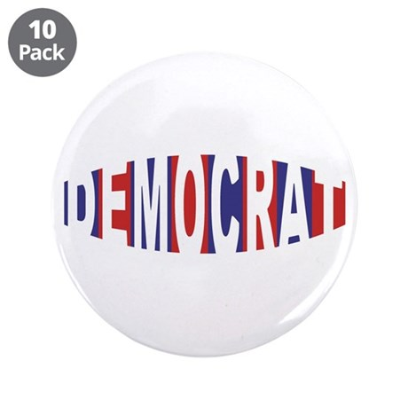 "Democrat Bulge 3.5"" Button (10 pack)"
