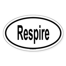 RESPIRE Oval Decal