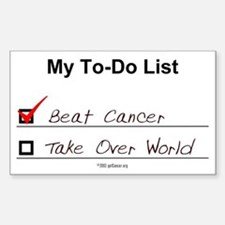 My To-Do List Rectangle Decal