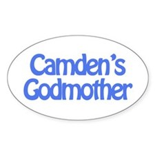Camden's Godmother Oval Decal