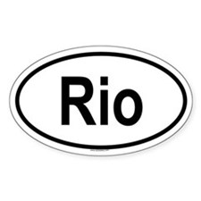 RIO Oval Decal