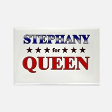 STEPHANY for queen Rectangle Magnet