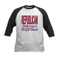 It's My Party Republican Tee