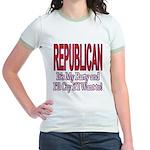 It's My Party Republican Jr. Ringer T-Shirt