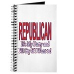 It's My Party Republican Journal