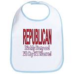 It's My Party Republican Bib