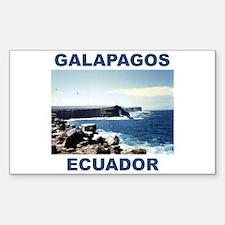 GALAPAGOS ECUADOR Sticker (Rectangle)
