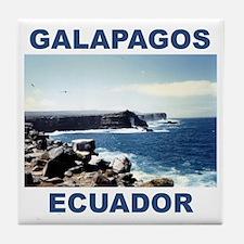 GALAPAGOS ECUADOR Tile Coaster