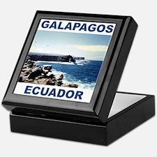 GALAPAGOS ECUADOR Keepsake Box