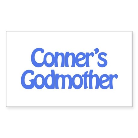 Conner's Godmother Rectangle Sticker