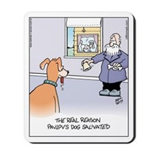 Pavlov's Dog Mousepad