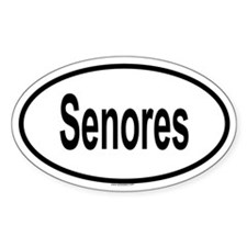 SENORES Oval Decal