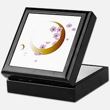 Cherry Blossoms & Moons Keepsake Box
