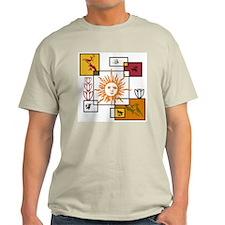 Sun Cycle Dekonstruktion T-Shirt