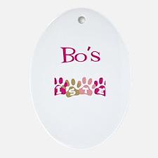 Bo's Sister Oval Ornament