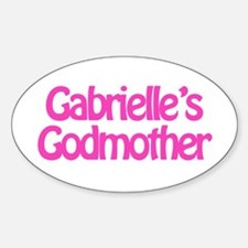 Gabrielle's Godmother Oval Decal