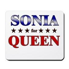 SONIA for queen Mousepad