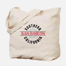 San Simeon California Tote Bag