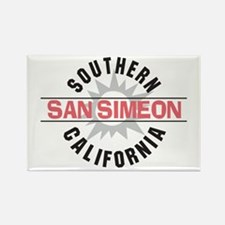 San Simeon California Rectangle Magnet