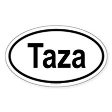 TAZA Oval Decal