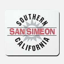 San Simeon California Mousepad