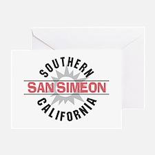 San Simeon California Greeting Card
