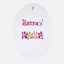 Gizmo's Sister Oval Ornament