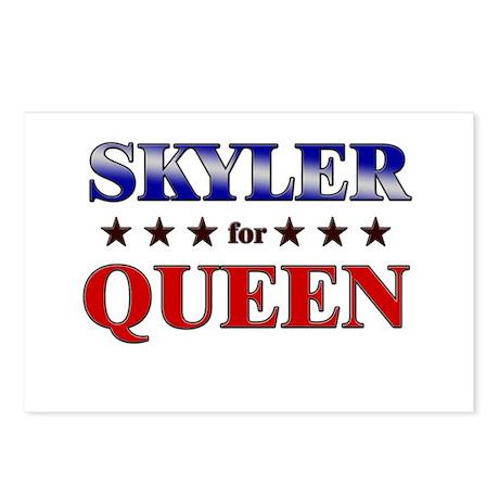 SKYLER for queen Postcards (Package of 8)