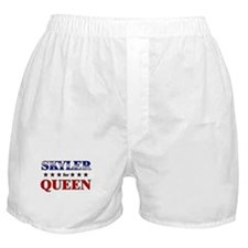 SKYLER for queen Boxer Shorts