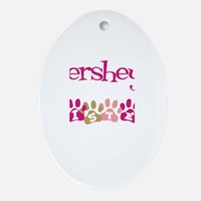 Hershey's Sister Oval Ornament