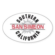 San Simeon California Decal