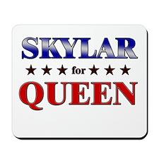 SKYLAR for queen Mousepad