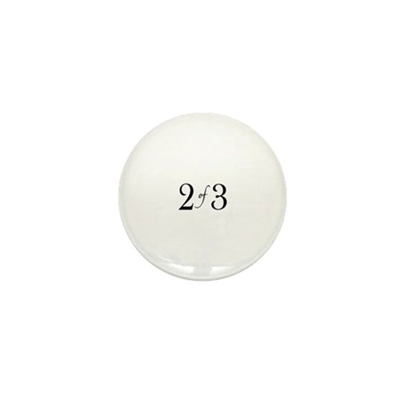 2 of 3 (middle child) Mini Button (100 pack)