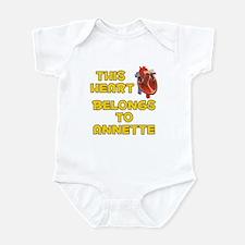 This Heart: Annette (A) Infant Bodysuit