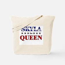 SKYLA for queen Tote Bag