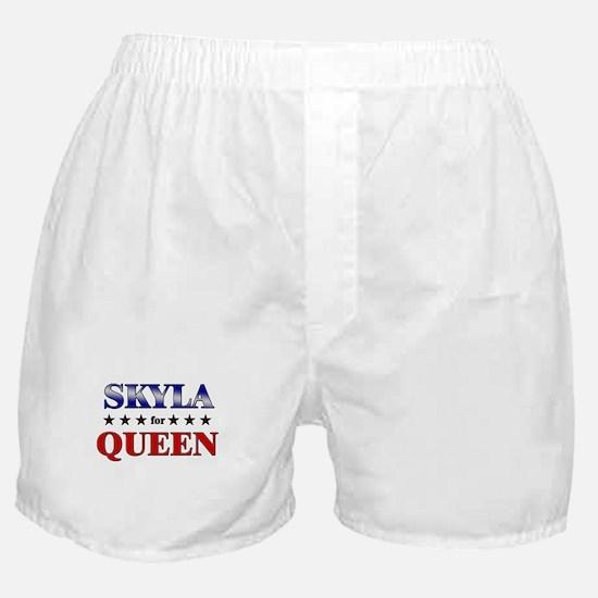 SKYLA for queen Boxer Shorts