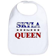 SKYLA for queen Bib