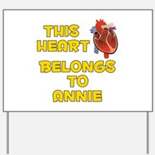 This Heart: Annie (A) Yard Sign