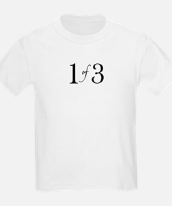 1 of 3 (1st born oldest child) T-Shirt