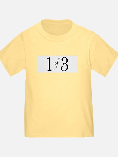1 of 3 (1st born oldest child) T