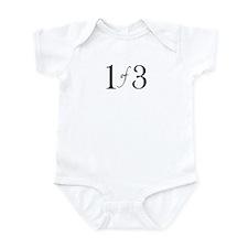 1 of 3 (1st born oldest child) Infant Bodysuit