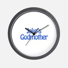 Jake's Godmother Wall Clock