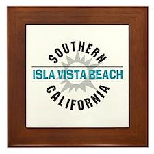 Isla Vista California Framed Tile