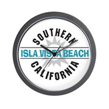 Isla Vista California Wall Clock