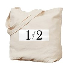 1 of 2 (Twins) Tote Bag