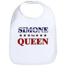 SIMONE for queen Bib