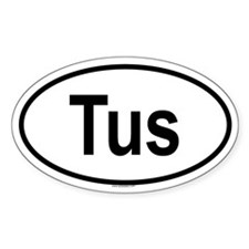 TUS Oval Decal
