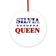 SILVIA for queen Ornament (Round)