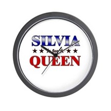 SILVIA for queen Wall Clock